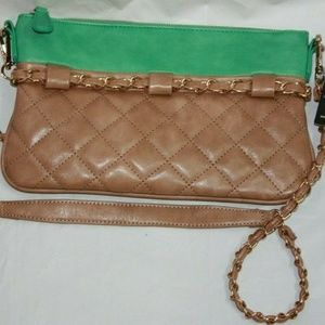 Urban Expressions Quilted Crossbody Purse Chain